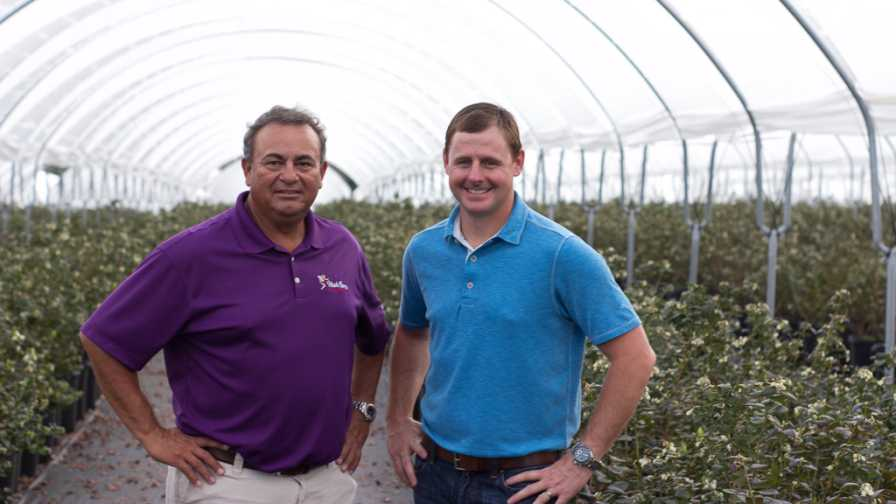 Teddy Koukoulis and J.C. Clinard of Wish Farms