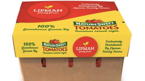 Fresh Tomatoes a Package Deal for Lipman, NatureSweet