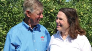 Couple's Approach to Apple Growing is All About Teamwork