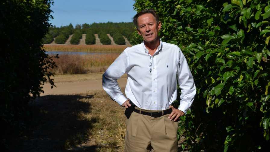 Michel Sallin of Cherrylake Tree Farm and IMG Citrus