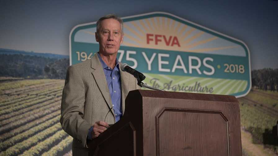 Mike Stuart speaks at FFVA 2018 Convention