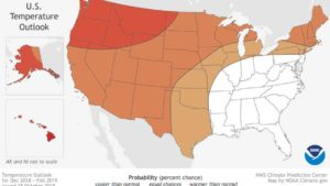 More Mild than Wild in NOAA's Latest Winter Forecast