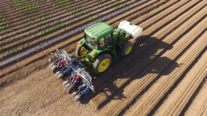 Automation Powers New Potential of Lettuce Thinning