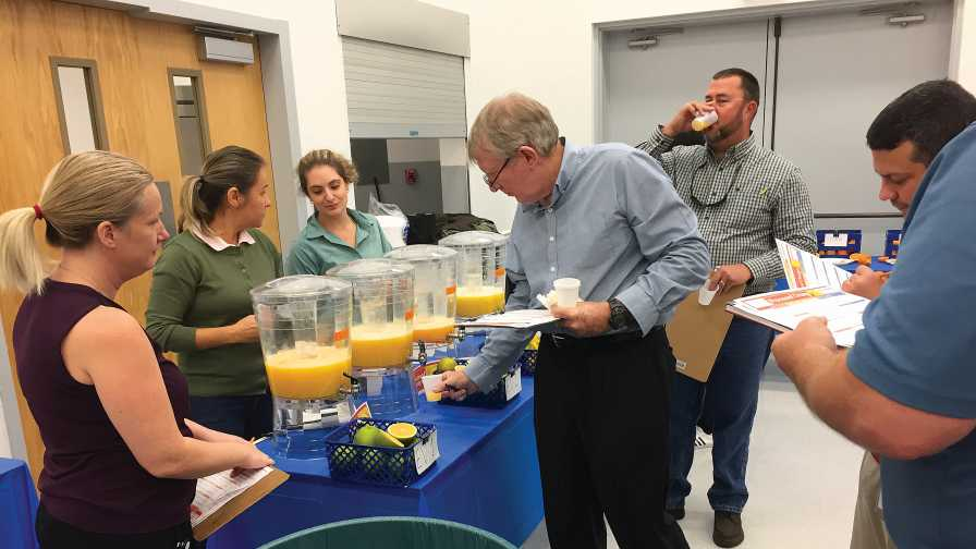 UF/IFAS citrus variety display day
