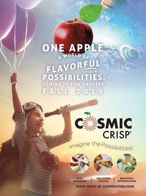 $10 Million in Budget to Boost 'Cosmic Crisp' Apple Launch