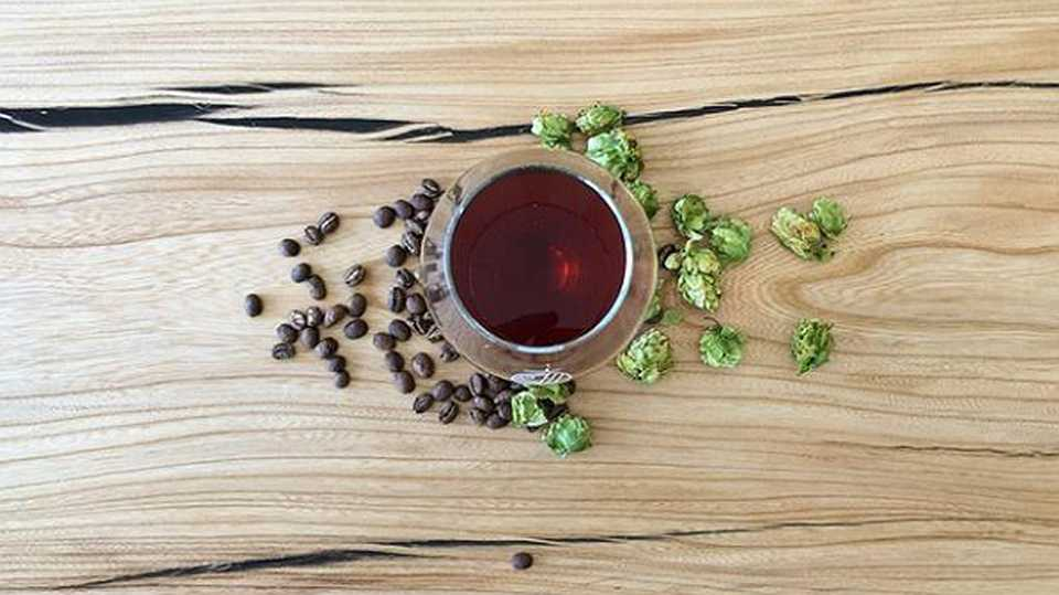Craft coffee infused with Florida hops
