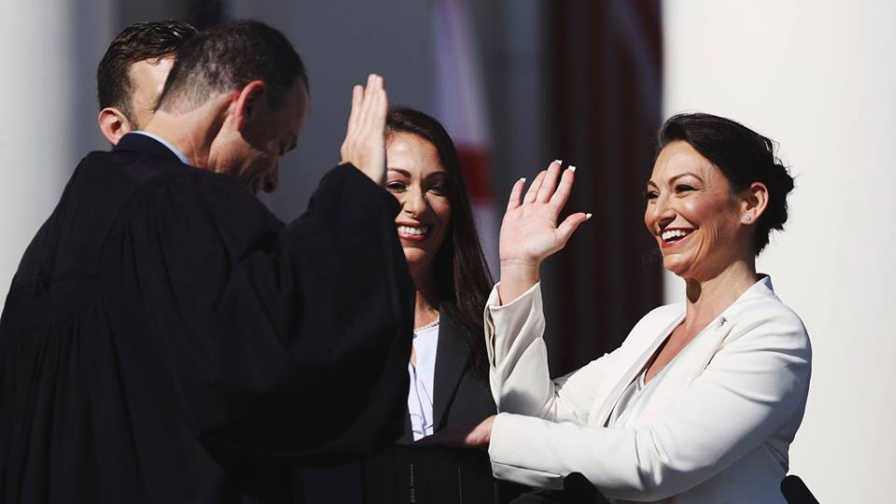"""Nicole """"Nikki"""" Fried sworn in as Florida Commissioner of Agriculture"""