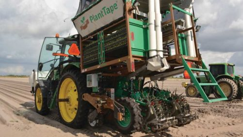 New Planter Tech Grabbing Attention of Vegetable Growers