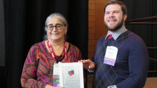 Berry Expert Receives National Honor for Research