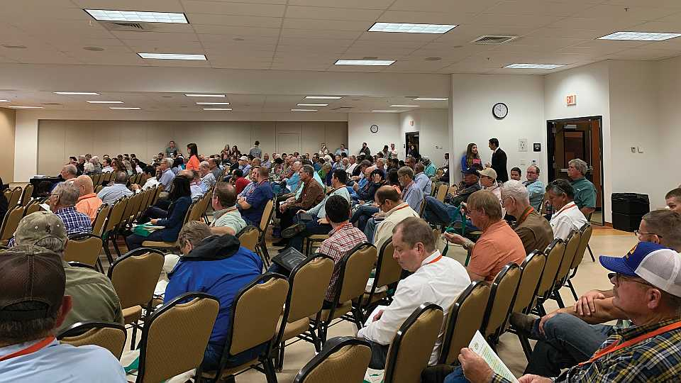 Education session crowd at 2019 Florida Citrus Show