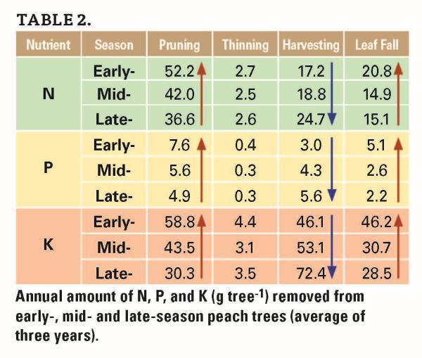 Do You Know How Good Your Peach Fertilization Program Is?