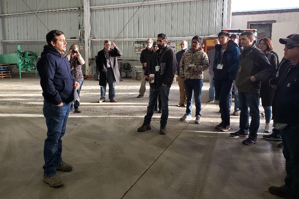 Scenes From the 2019 Pre-Show Biocontrols Farm Tours