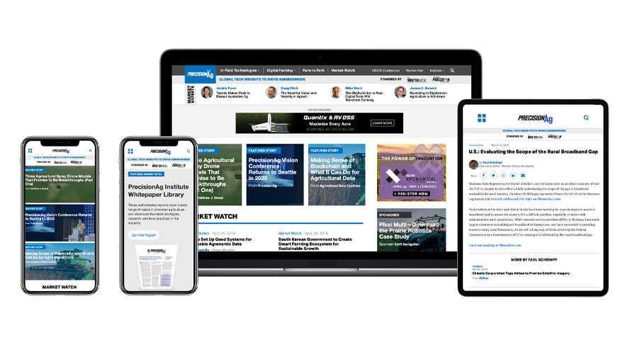 PrecisionAg.com refreshed digital editorial assets