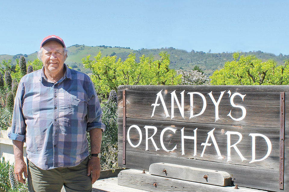 andy mariani, andy's orchard