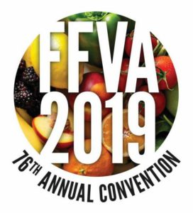 Florida Fruit and Vegetable Association 2019 convention logo