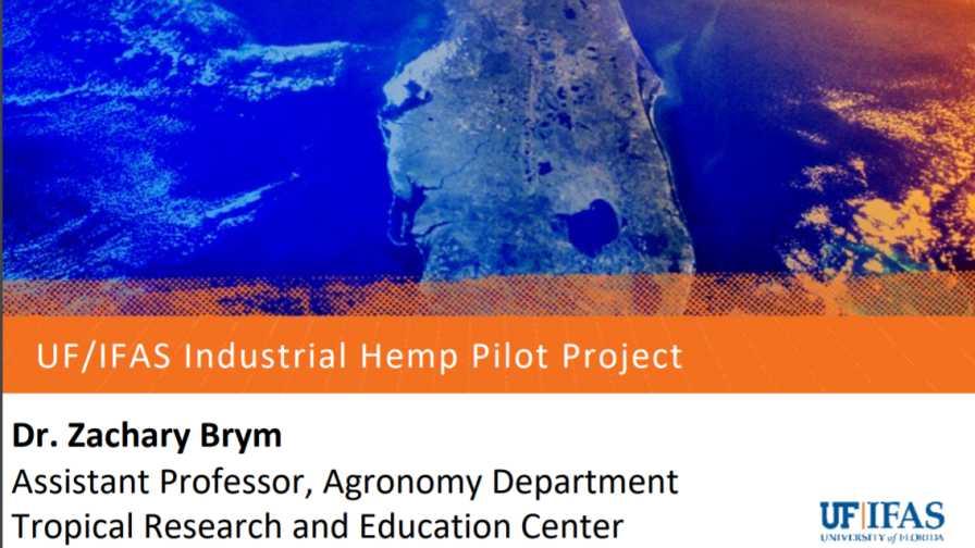 Florida hemp project presentation slide