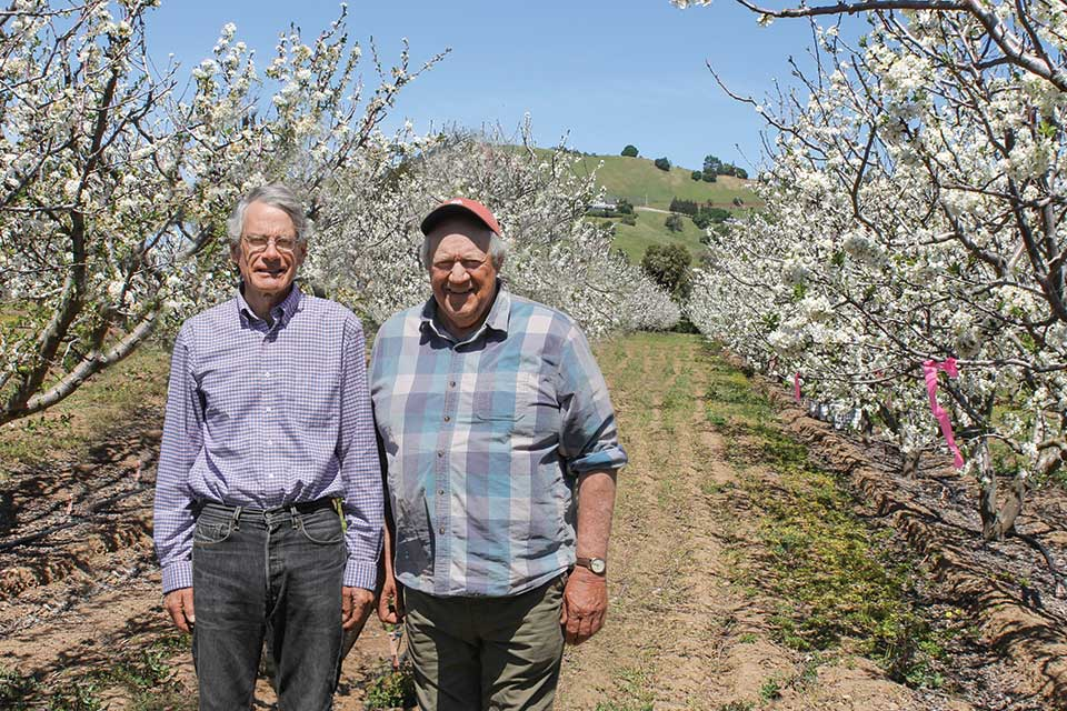 toddy kennedy, andy mariani, california rare fruit growers