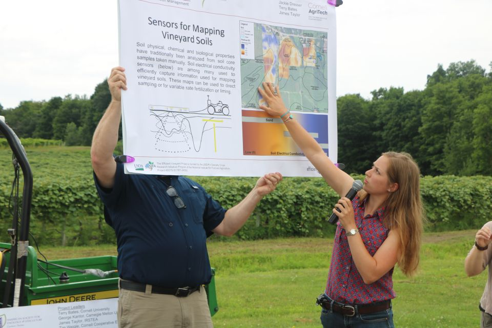 Viticulture Goes Digital With Symposium and Tour