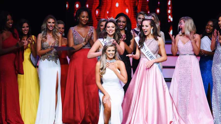 Miss Florida 2019 crowning moment