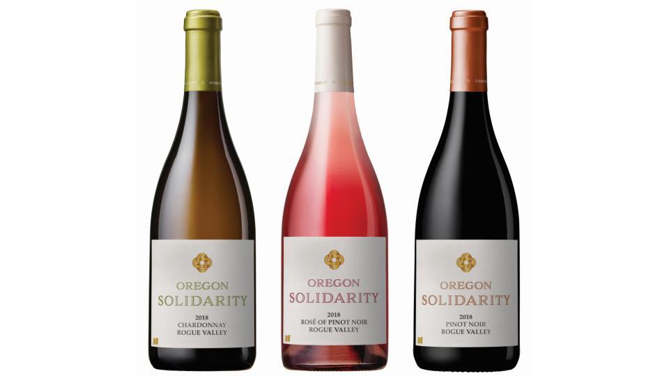 oregon solidarity wine