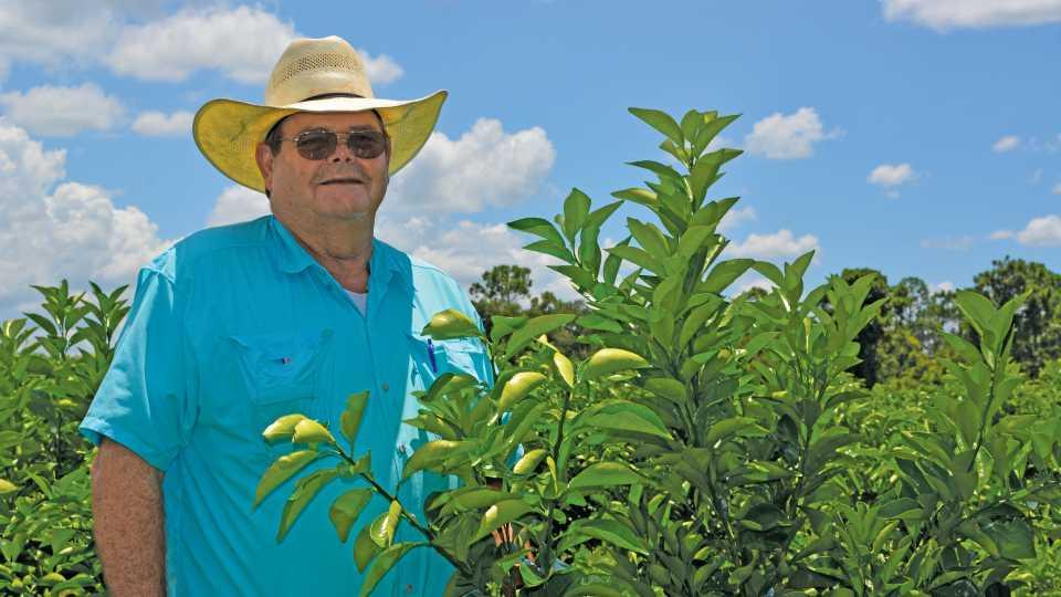 Horace Durrance Florida citrus grower