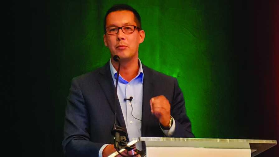 Randy Riley of The Kroger Co. speaks at 2019 U.S. Apple Outlook Conference