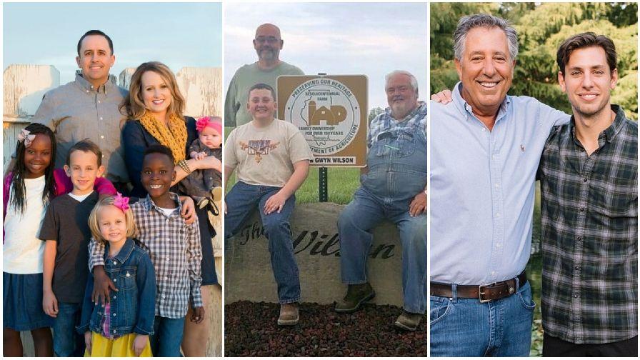 Farm families Wilson Dinsmore and Bassetti