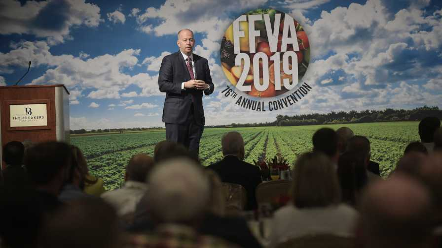 George LeMieux presents at 2019 FFVA convention