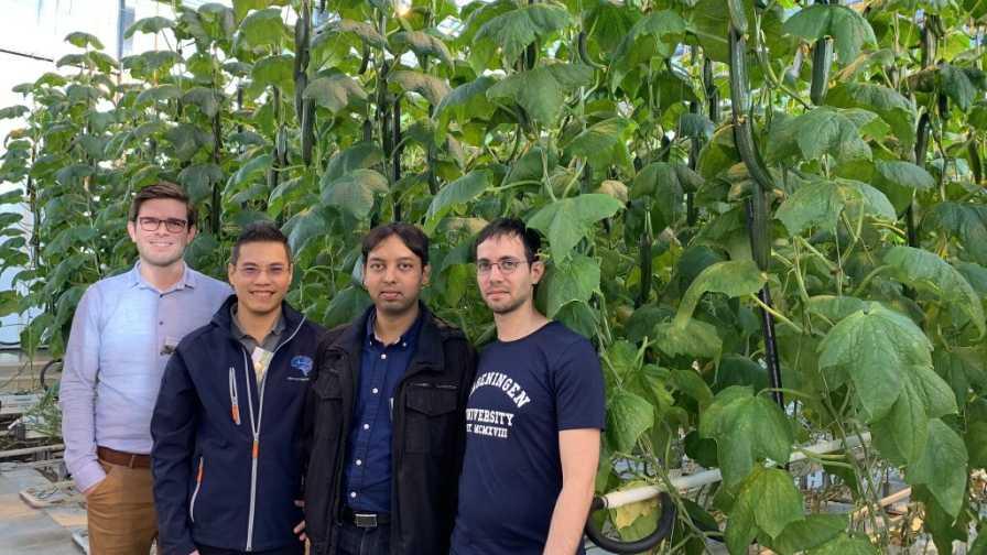 Team Sonoma for Microsoft autonomous greenhouse