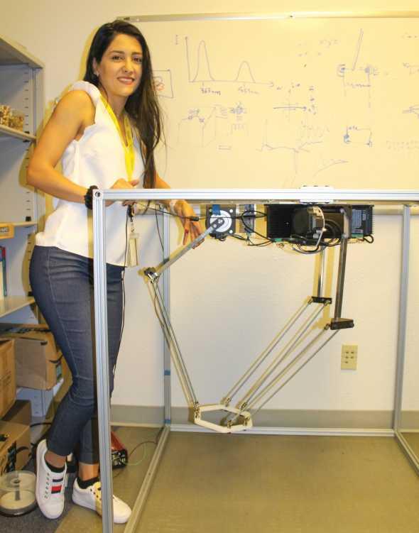 Precision ag lab berry harvester prototype
