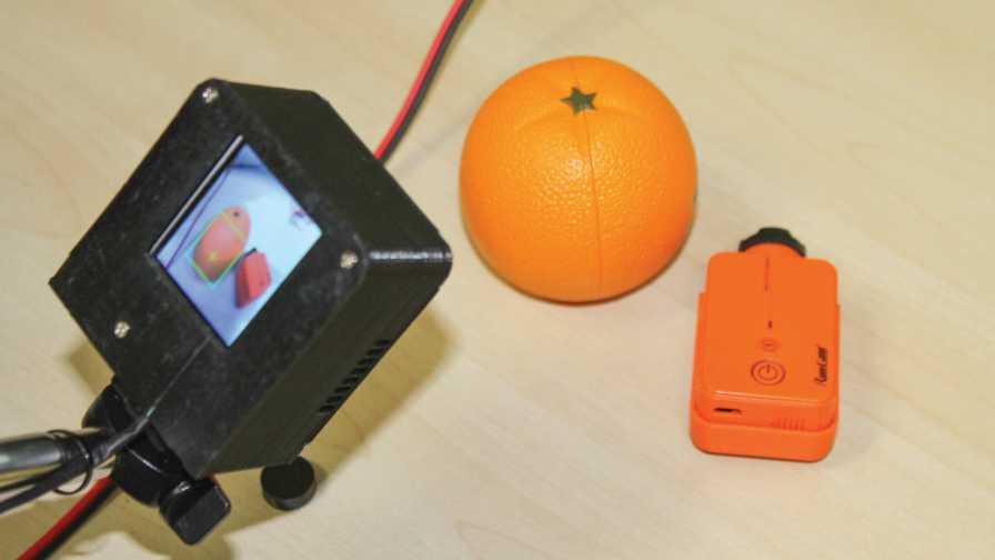 Smart camera at Precision ag lab