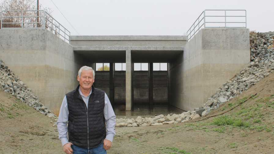 Terranova Ranch groundwater flood system shown by Don Cameron