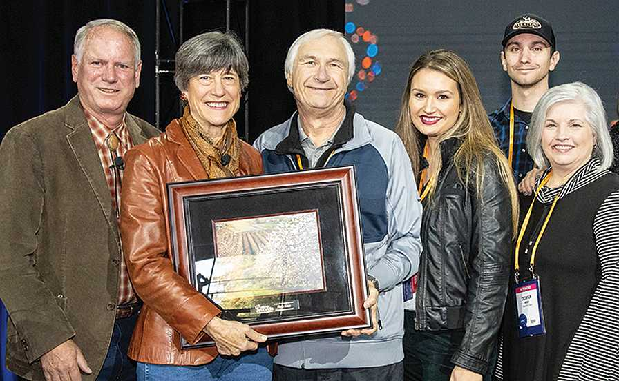 Rob Kiss receives 2019 Almond Achievement Award