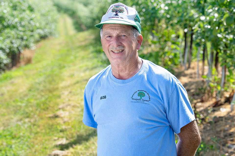 2020 Apple Grower of the Year Bob Black