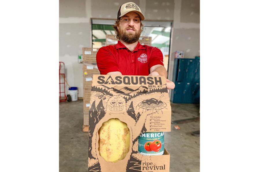 Sasquash meal kit from Ripe Revival